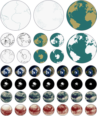 An Animated Map of the Earth