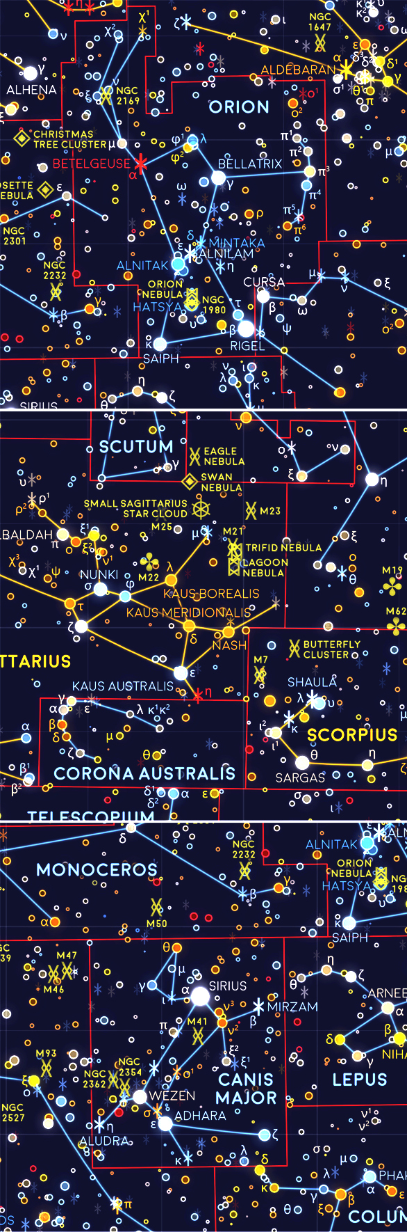 The Western Constellations